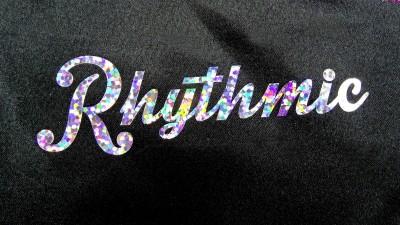 odblaskowy napis z folii flex