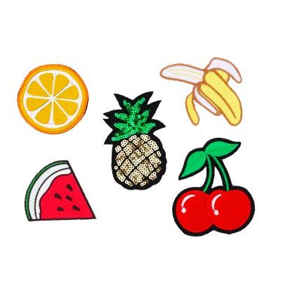 cekiny ozdobne owoce